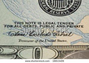 legal-tender