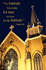 Sabbath made for man