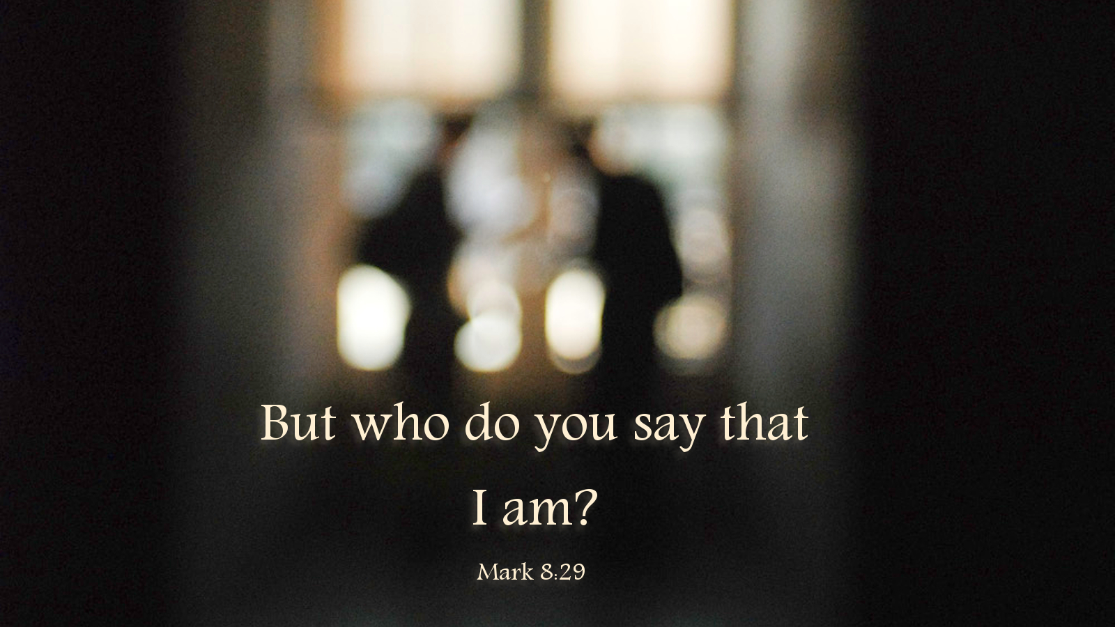 who is jesus to you essay The disciples had been with jesus well over two years, listening to him teach,  seeing him perform  essay: mark 8  now they were traveling around to  villages around caesarea philippi when jesus asks them,  who do you say that  i am.